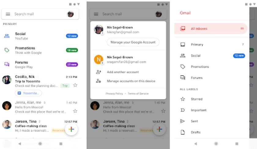 Gmail – Essential Android Apps
