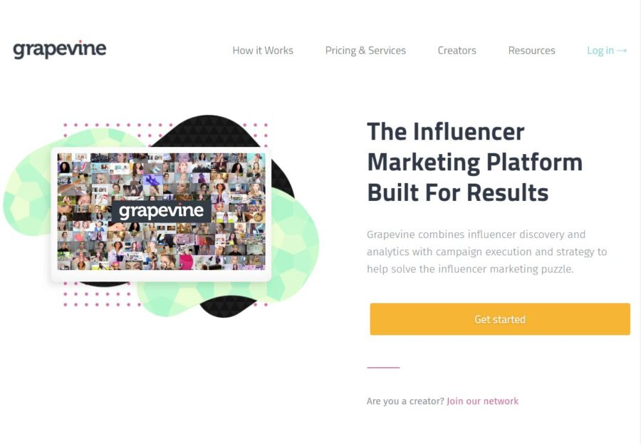 Grapevinelogic - Websites for Influencers