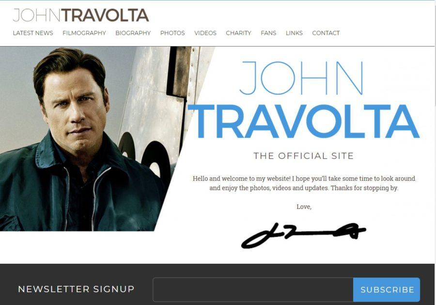 John Travolta - Foreign Celebrity Websites