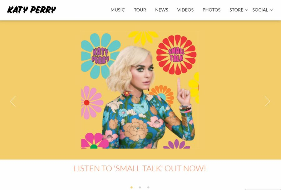 Katy Perry - Foreign Celebrity Websites