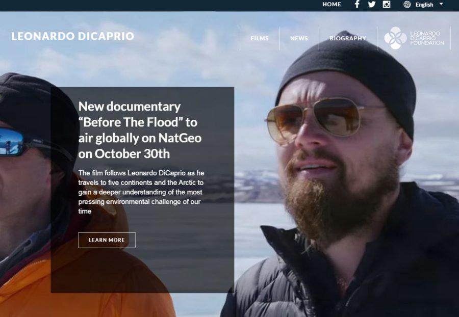 Leonardo Di Caprio - Foreign Celebrity Websites