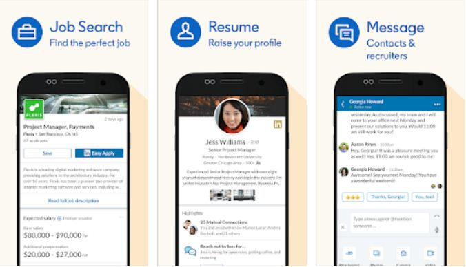 LinkedIn – Essential Android Apps