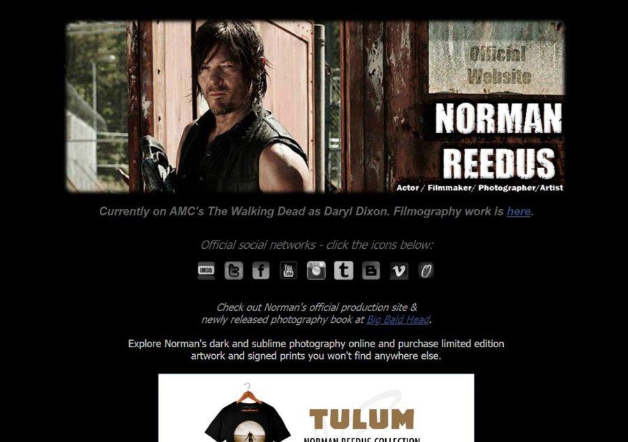Norman Reedus - Foreign Celebrity Websites