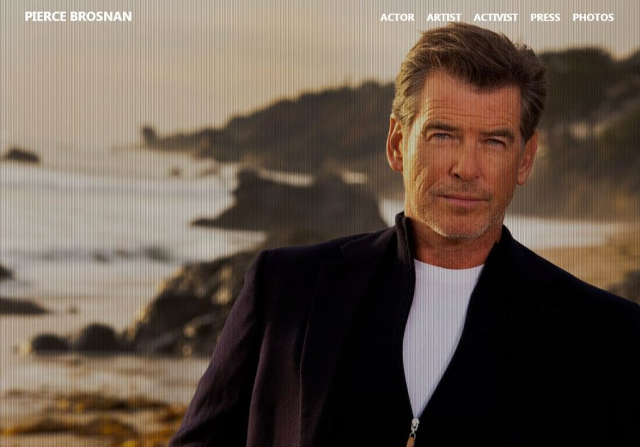 Pierce Brosnan - Foreign Celebrity Websites