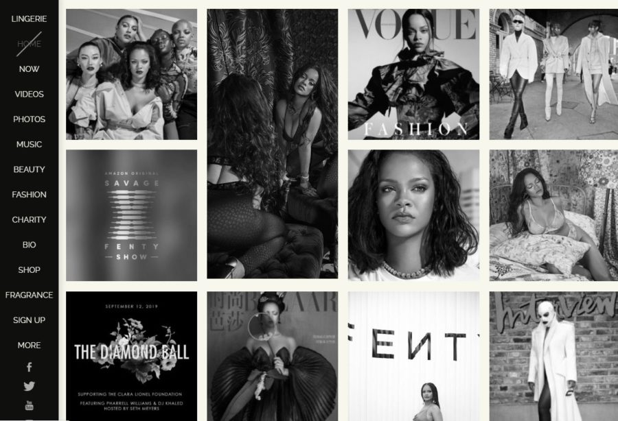 Rihanna - Foreign Celebrity Websites