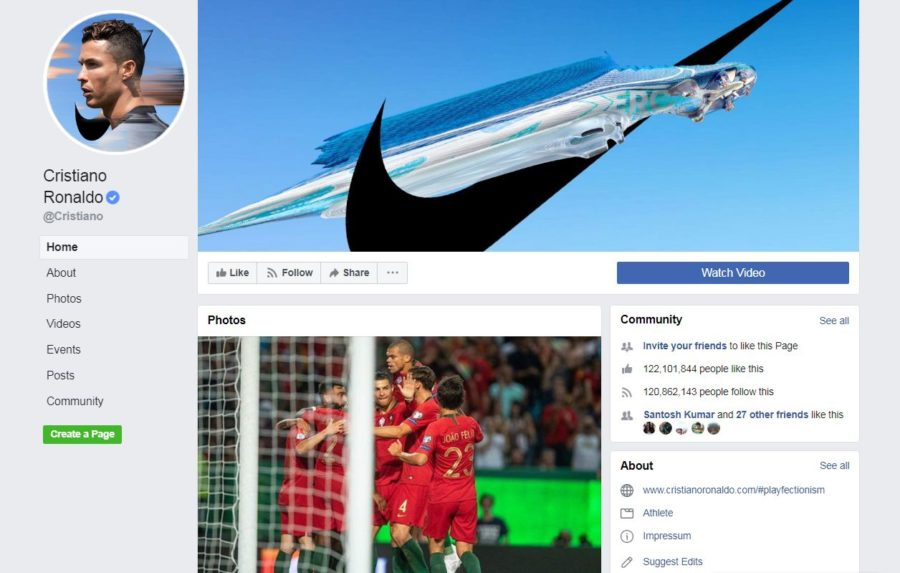 Ronaldo Facebook