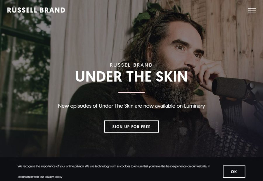 Russell Brand - Foreign Celebrity Websites