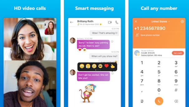 Skype – Essential Android Apps