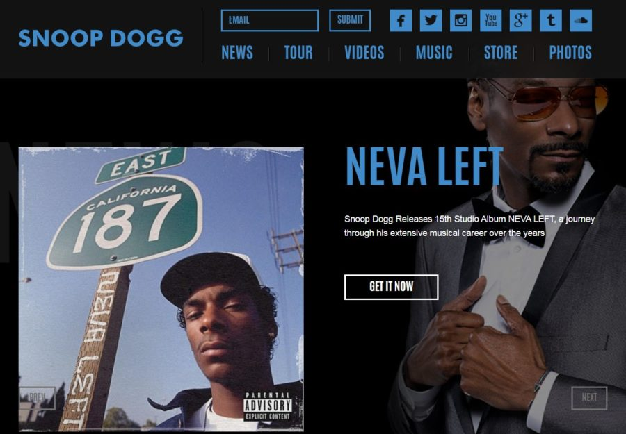 Snoop Dogg - Foreign Celebrity Websites