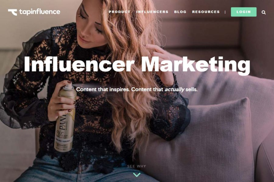TapInfluence - Websites for Influencers