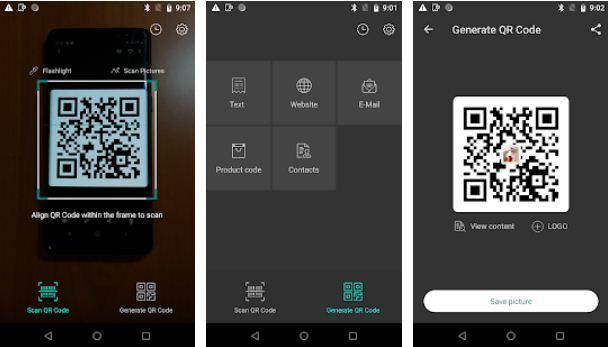 QR Code Reader & Generator Barcode Scanner