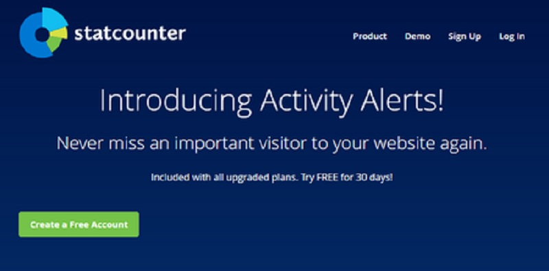 Statcounter Web Analytics