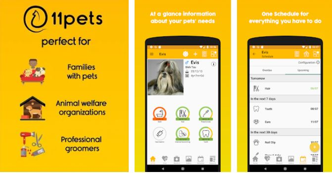 11pets - Best Pet Apps for Android
