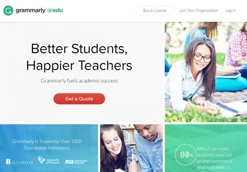 Grammarly@edu