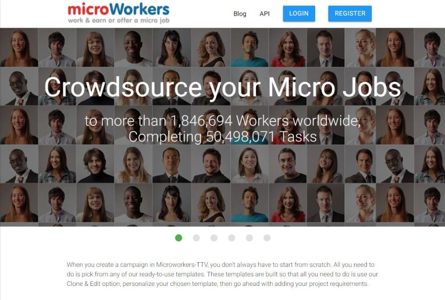 Microworkers Website Review