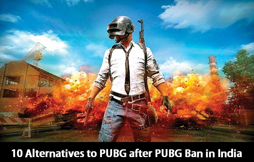 10 Alternatives to PUBG after PUBG Ban in India