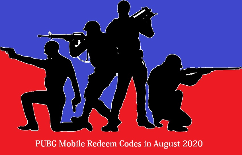 PUBG Mobile Redeem Codes in August 2020