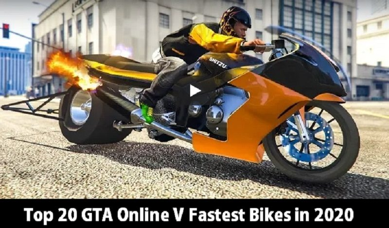Top 20 GTA Online V Fastest Bikes in 2020