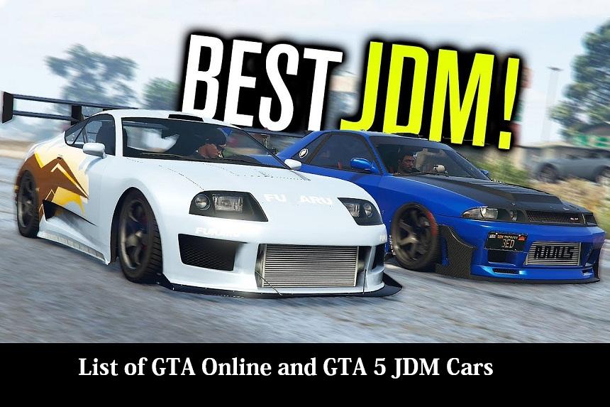 List of GTA Online and GTA 5 JDM Cars